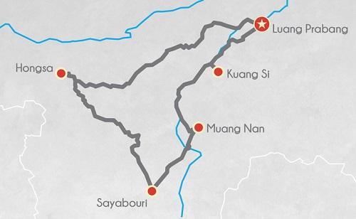 Tour moto au Laos 2 jours expert moto