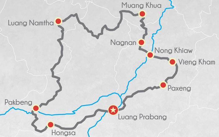 Tour moto au Laos 5 jours expert